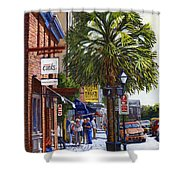 East Bay St. Charleston Sc Shower Curtain