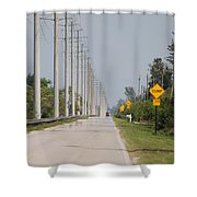 East Bound And Down Shower Curtain