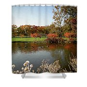 East Coast Autumn Shower Curtain