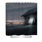 East Coast Fear Shower Curtain