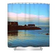 East Coast Sunrise Shower Curtain