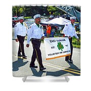 East Durham Volunteer Fire Company Inc 3 Shower Curtain
