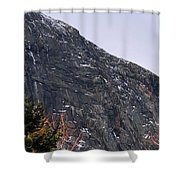 East Face Of Canon Mountain Shower Curtain
