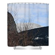 East From Cannon Mountain Shower Curtain
