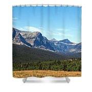 East Glacier Park Shower Curtain