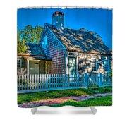 East Hampton Antique Cottage Shower Curtain