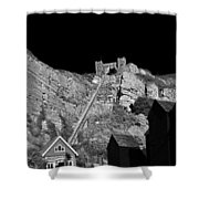 East Hill Cliff Railway - Hastings Shower Curtain