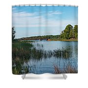 East Jordan 11 Shower Curtain
