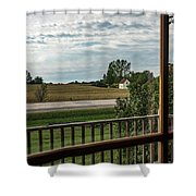 East Jordan 24 Shower Curtain