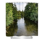East Jordan 7 Shower Curtain