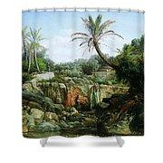 East Landscape Henryk Semiradsky Shower Curtain