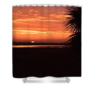East Looking West Shower Curtain