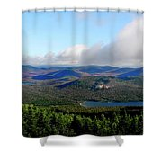 East Of Blue Shower Curtain