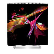 East Of The Sun Shower Curtain