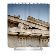 East Pediment - Parthenon Shower Curtain