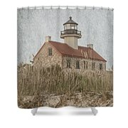 East Point Lighthouse Shower Curtain