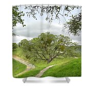 East Ridge Trail -  Spring Shower Curtain