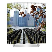 East River#2 Shower Curtain