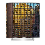 East Side Reflection Shower Curtain