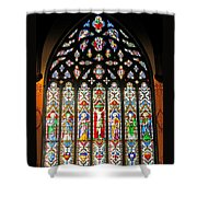 East Stained Glass Window Christ Church Cathedral 1 Shower Curtain