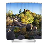 East Verde Revisited Shower Curtain