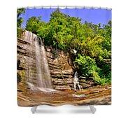 Eastatoe Falls/twin Falls 2 Shower Curtain