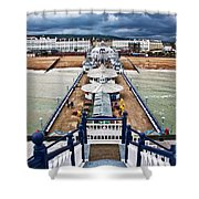 Eastbourne Pier Shower Curtain