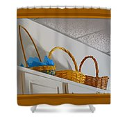 Easter Baskets Shower Curtain