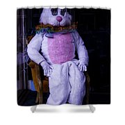 Easter Bunny Costume  Shower Curtain