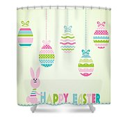Easter Bunny-jp2774 Shower Curtain