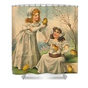Easter Day  Shower Curtain