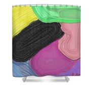 Slippers Shower Curtain