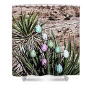 Easter Eggs On The Tree Shower Curtain