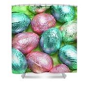 Easter Eggs Viii Shower Curtain