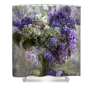 Easter Lilacs Shower Curtain