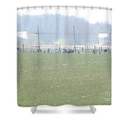 Easter Monday Amish Youth Gathering Shower Curtain
