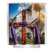 Easter Morning Shower Curtain