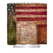 Easter Rising Shower Curtain