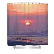 Easter Sunrise Shower Curtain