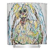 Easter Time Shower Curtain