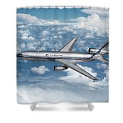 Eastern Air Lines Dc-10-30 Shower Curtain