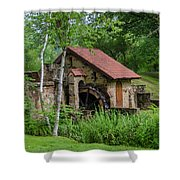Eastern College - Water Mill Shower Curtain