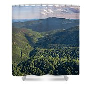 Eastern Continental Divide Shower Curtain