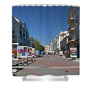 Eastern European Town Shower Curtain