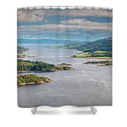 Eastern Kyle Of Bute Shower Curtain