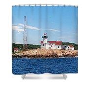 Eastern Point Light Shower Curtain
