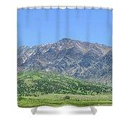 Eastern Sierra July Shower Curtain