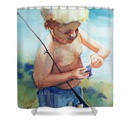 Easy Does It Now Shower Curtain