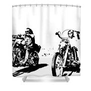 Easy Rider Shower Curtain