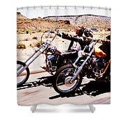 Easy Rider Photo Shower Curtain